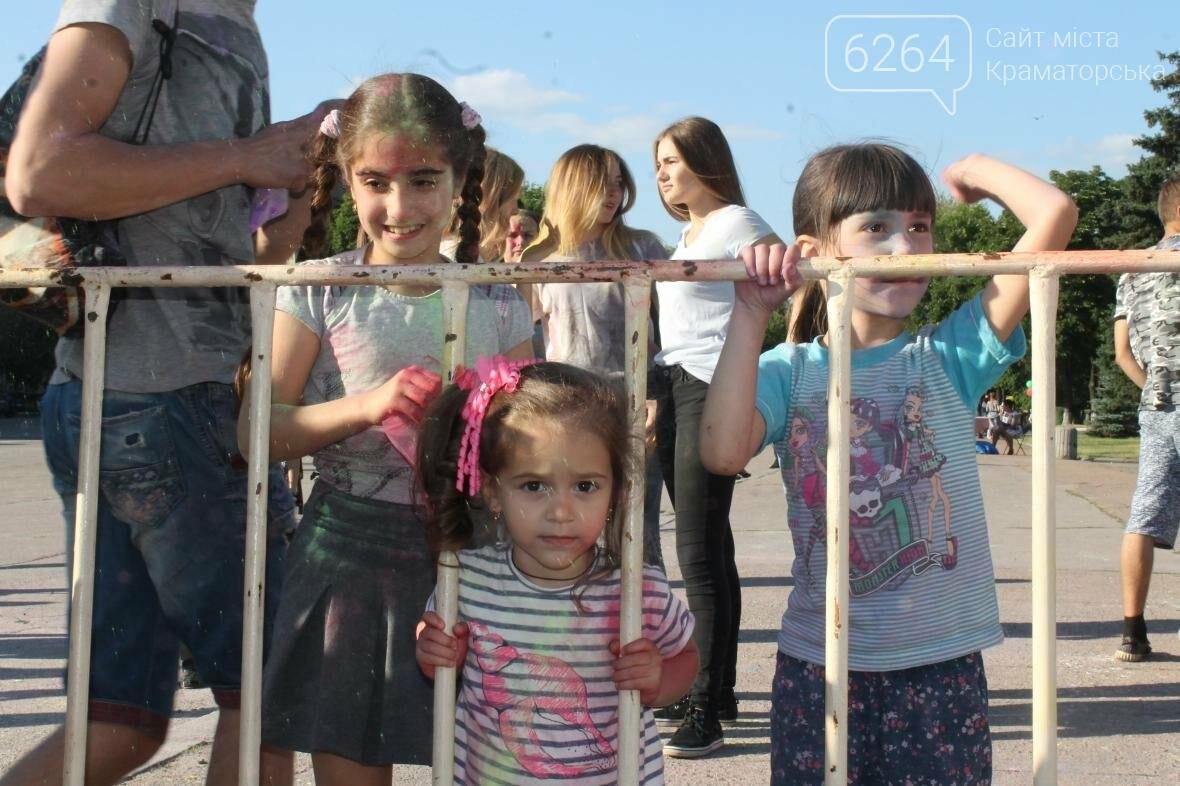 День молодежи в Краматорске: краски, дети и полуобнаженные девушки , фото-5