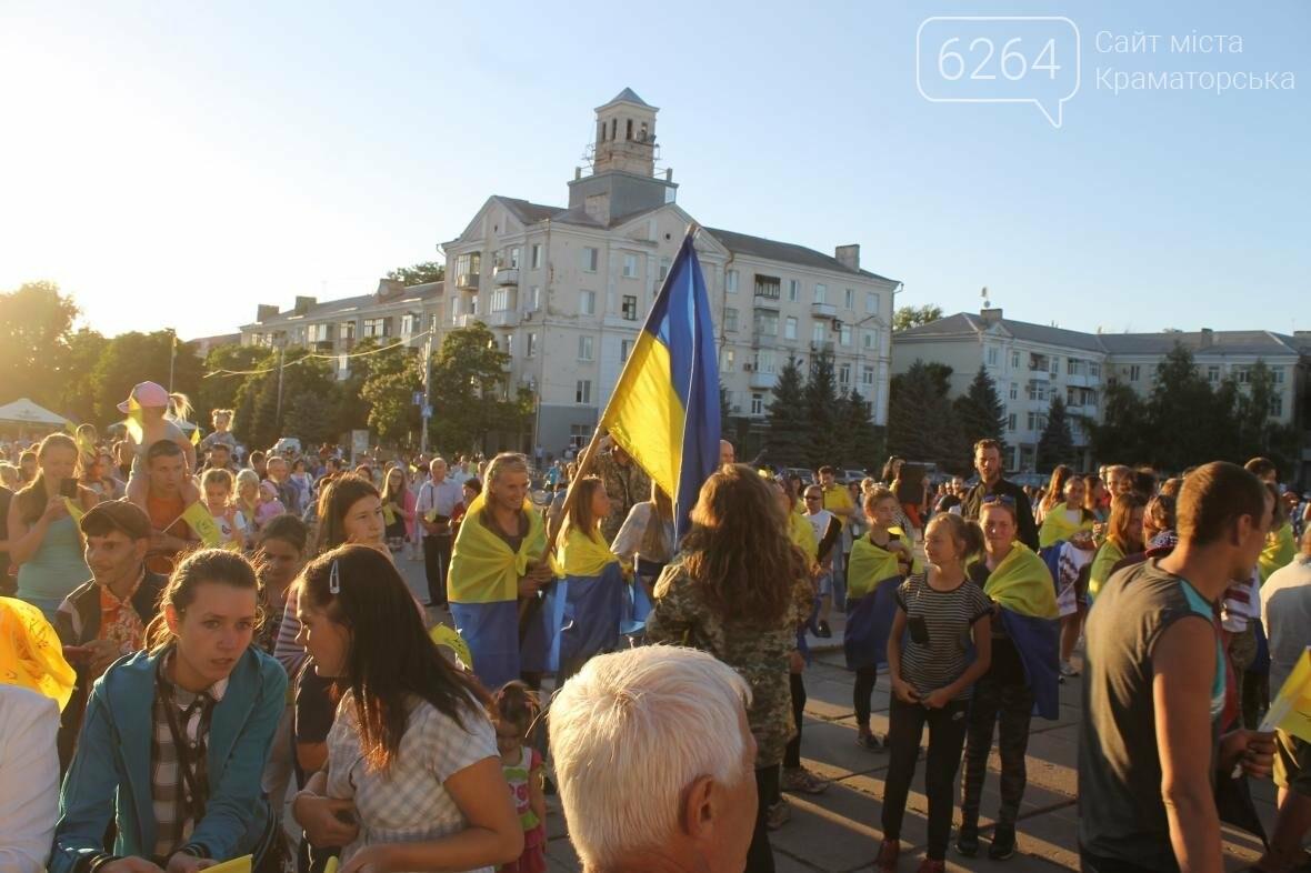 В Краматорске ФК «Маэстро» дали праздничный концерт, фото-2