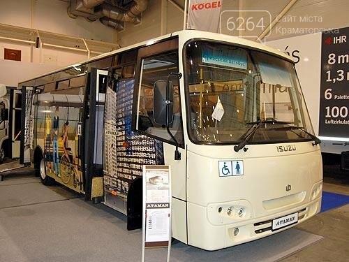 Краматорский коммунальный автопарк пополнился еще одним автобусом, фото-1