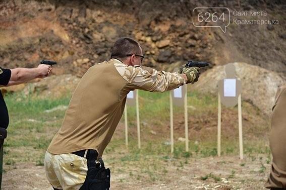 Полиция Донецкой области оттачивает навыки огневой подготовки, фото-4