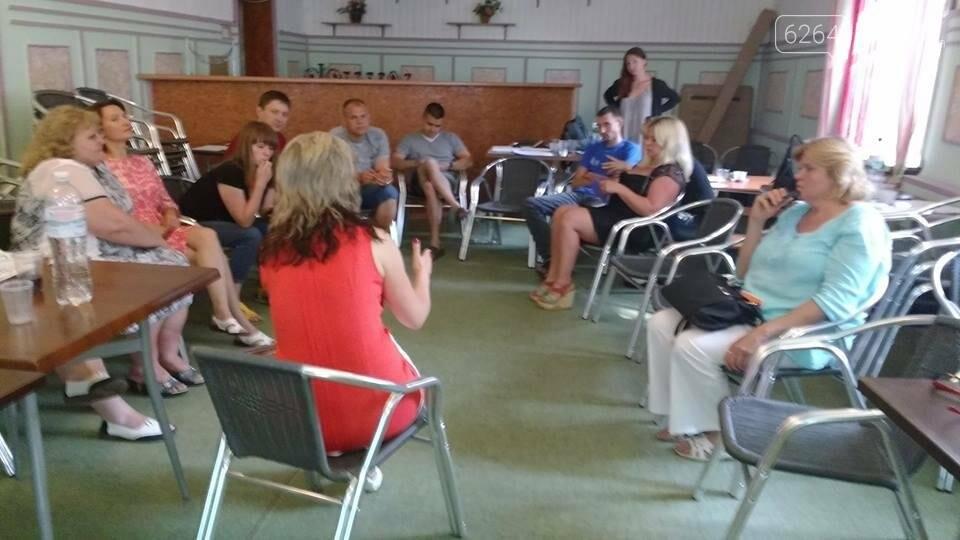 ВБФ «Зірка Надії» принял участие в тренинге «Носители мира», фото-2