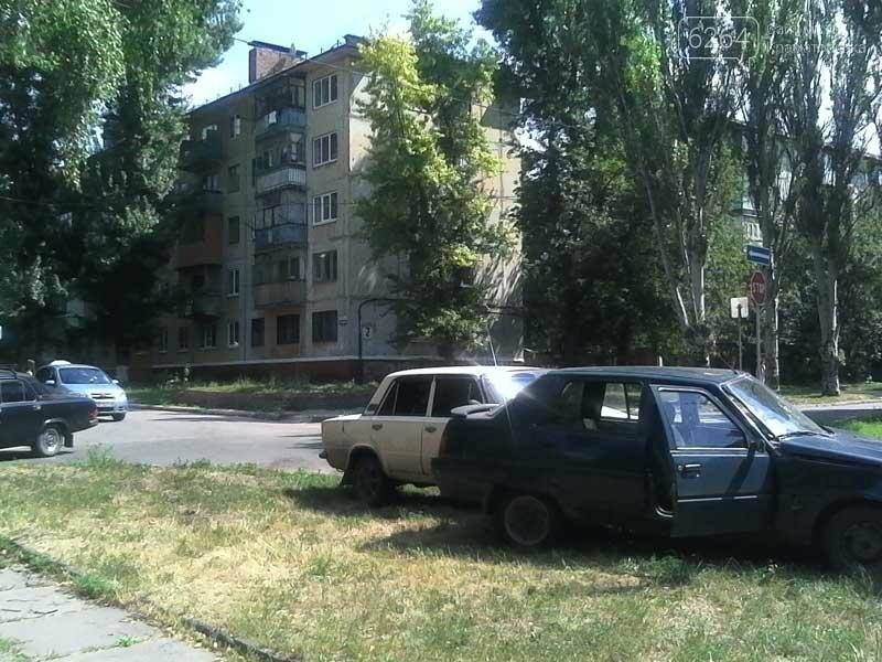 В центре Краматорска произошло ДТП , фото-2