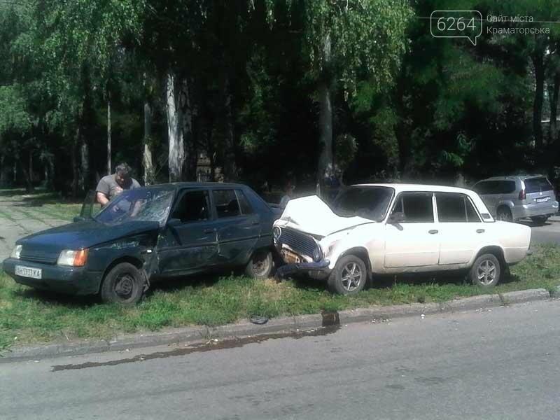В центре Краматорска произошло ДТП , фото-1