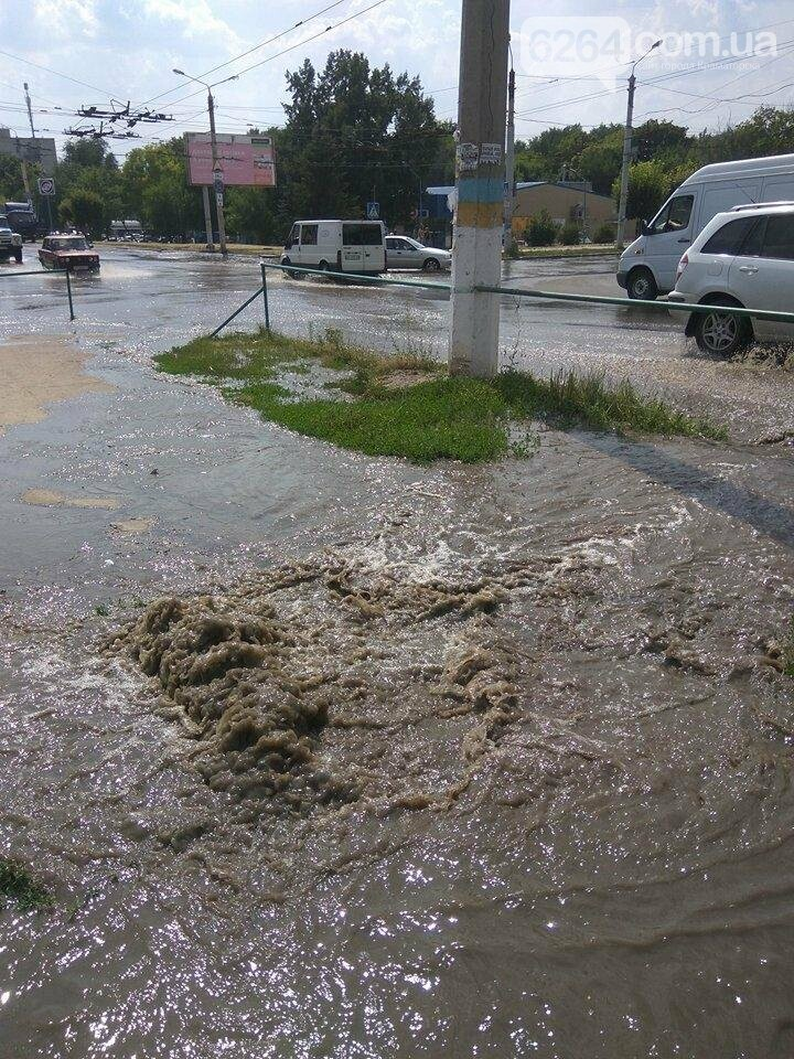 По ул. Парковой прорвало водопровод, фото-5