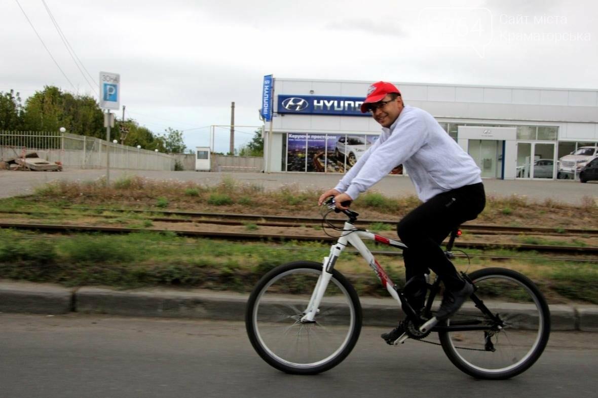 В Краматорске прошло два велопробега, фото-1