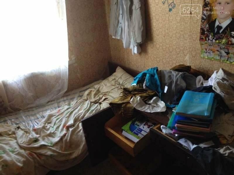 В Краматорске у нерадивой матери изъяли трех детей , фото-1