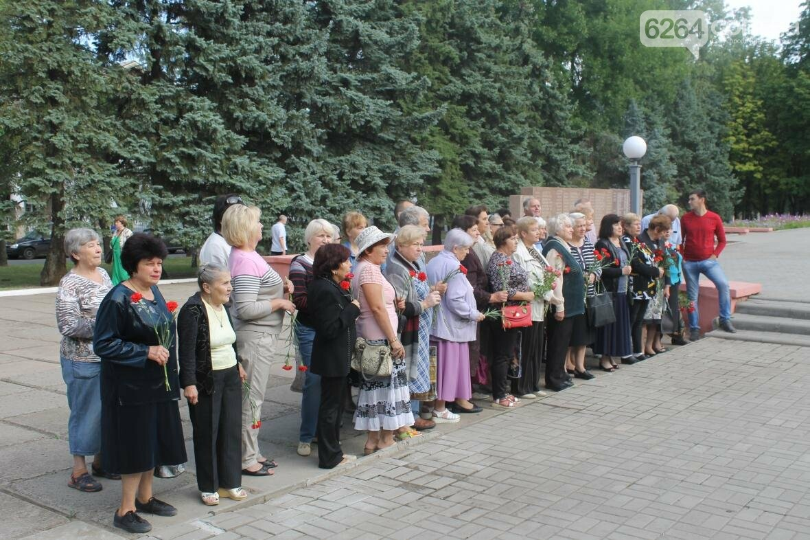 В Краматорске почтили погибших при освобождении Донбасса, фото-2