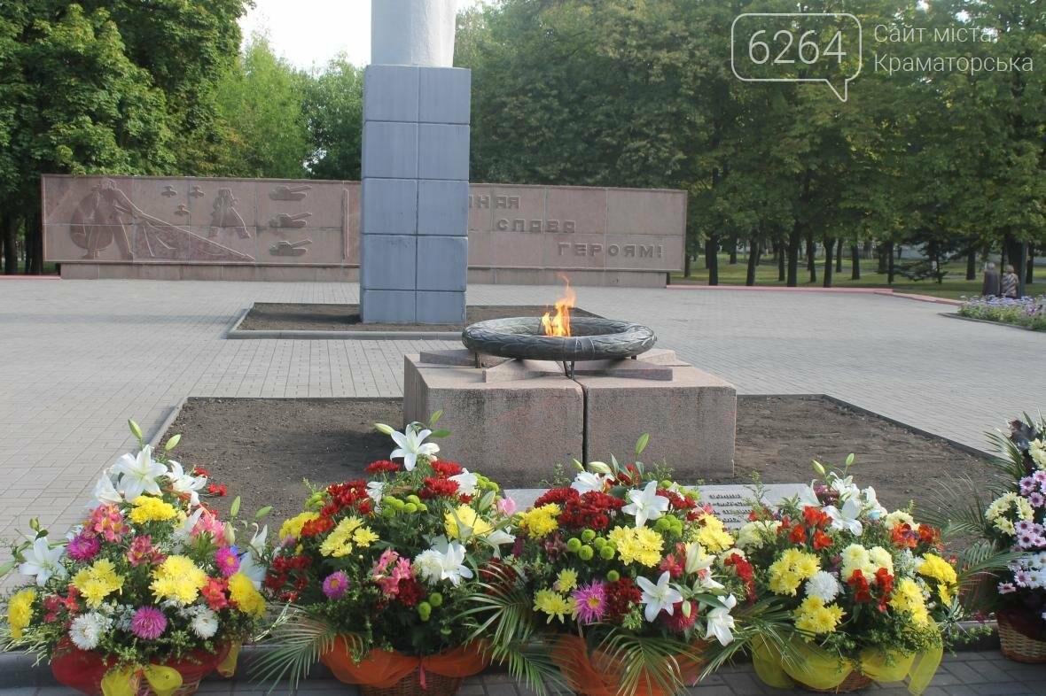 В Краматорске почтили погибших при освобождении Донбасса, фото-4
