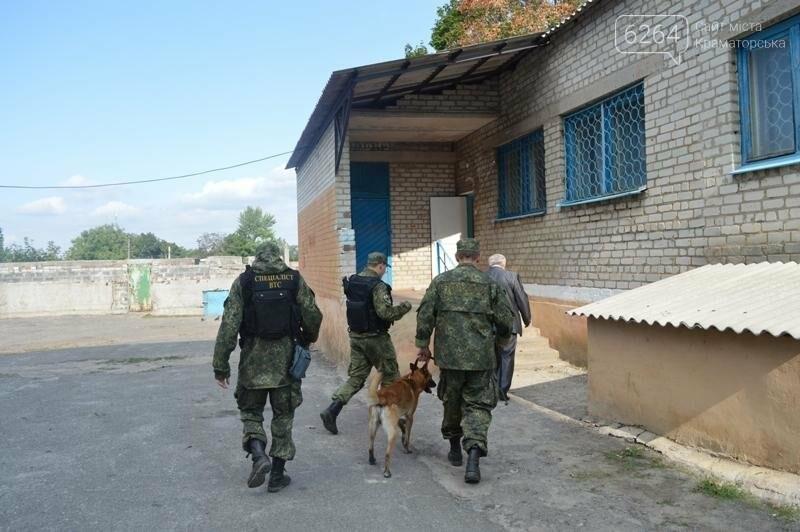 Неизвестный сообщил о минировании училища в Краматорске, фото-2