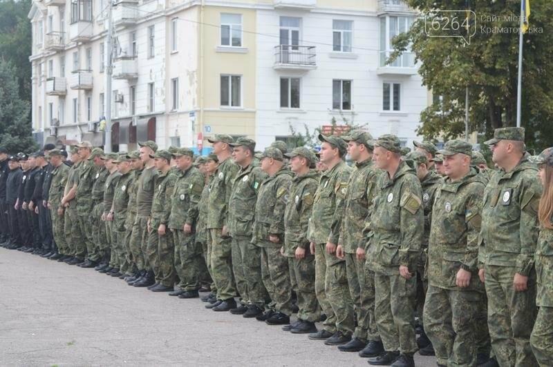Полиция Краматорска заступила на охрану общественного порядка, фото-1