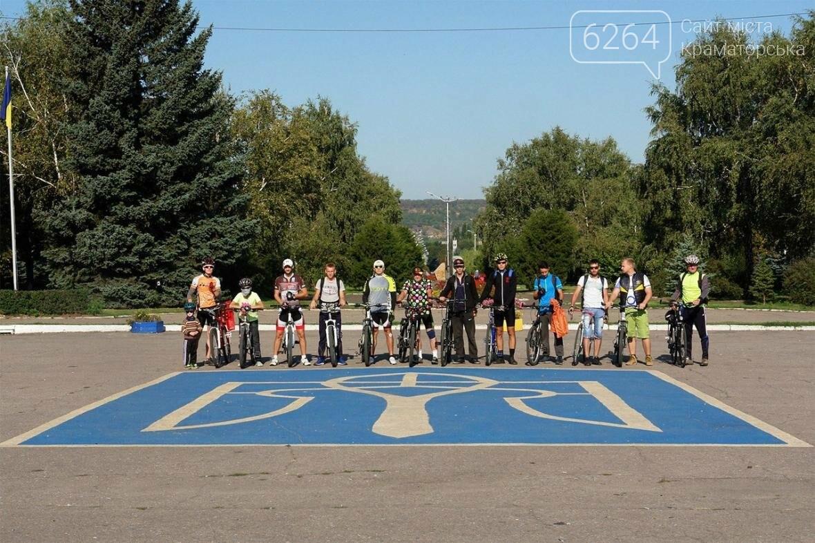 Краматорск стал одним из 12 городов областного велопробега, фото-1