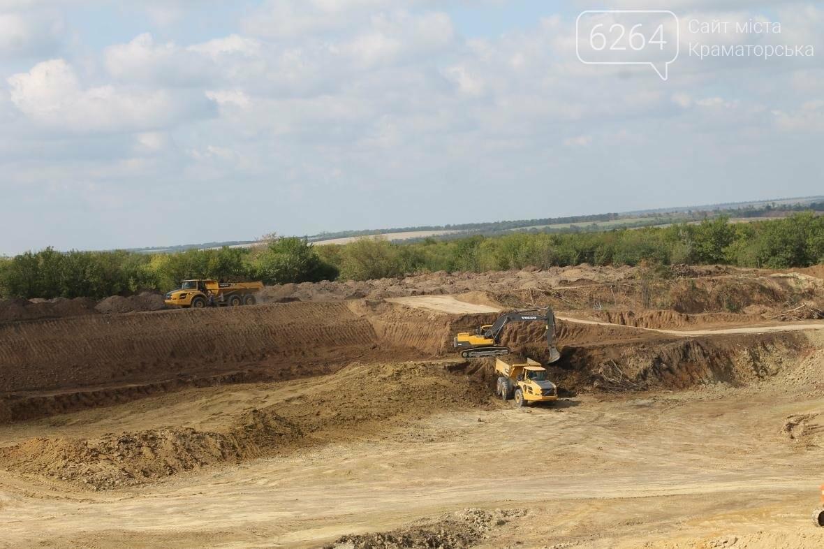 В Краматорске строится новый полигон для отходов , фото-2