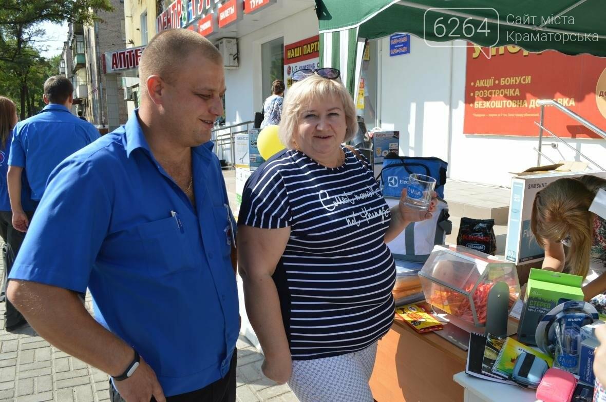 В Краматорске «Элма Сервис» отмечает свой день рождения и дарит подарки покупателям, фото-3