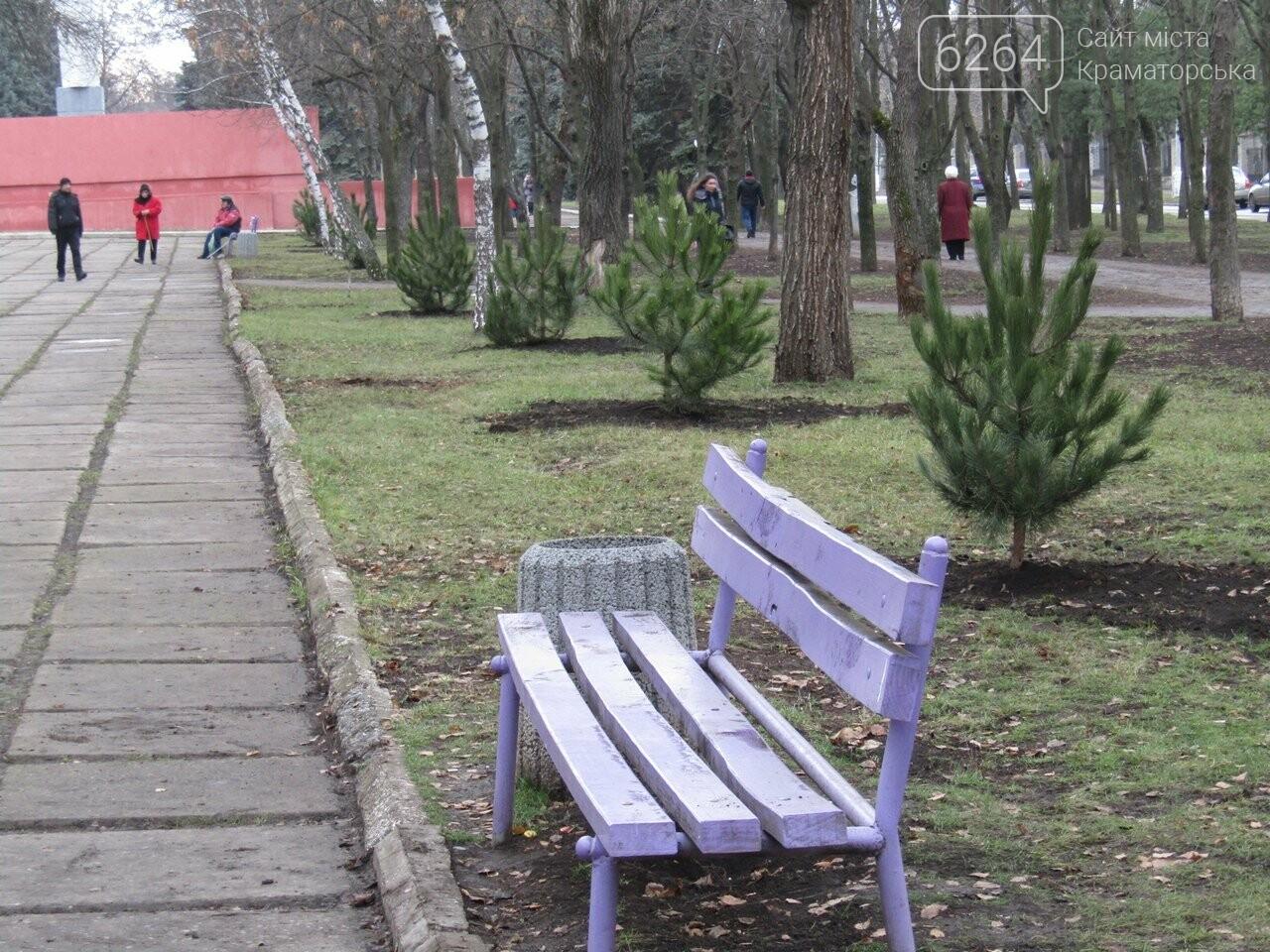 В Краматорске открыли памятный знак в честь героев, погибших в АТО, фото-4