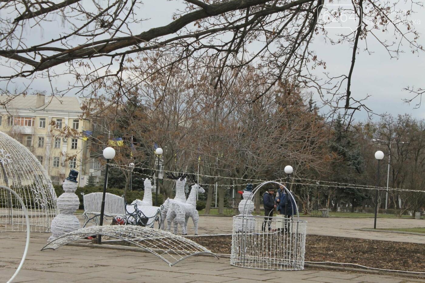Вскоре в Краматорске засияет праздничная иллюминация, фото-4