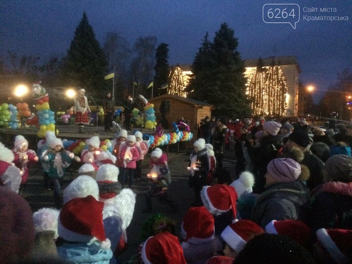 В Краматорске засиял главный символ наступления Нового года – праздничная елка, фото-4