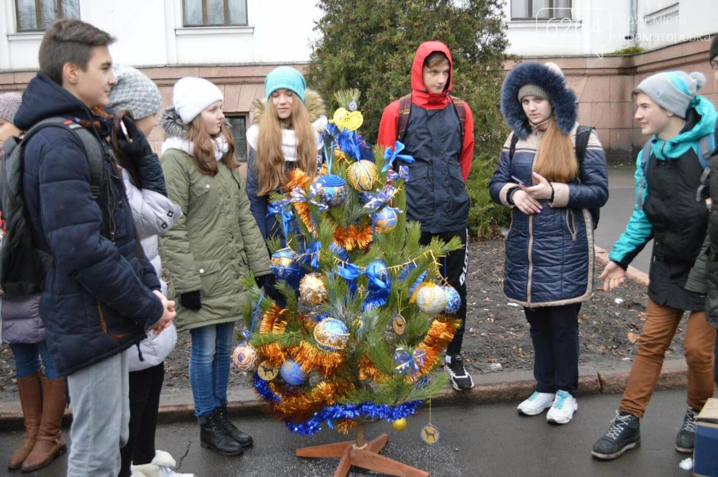 В Краматорске стартовал парад елок, фото-3