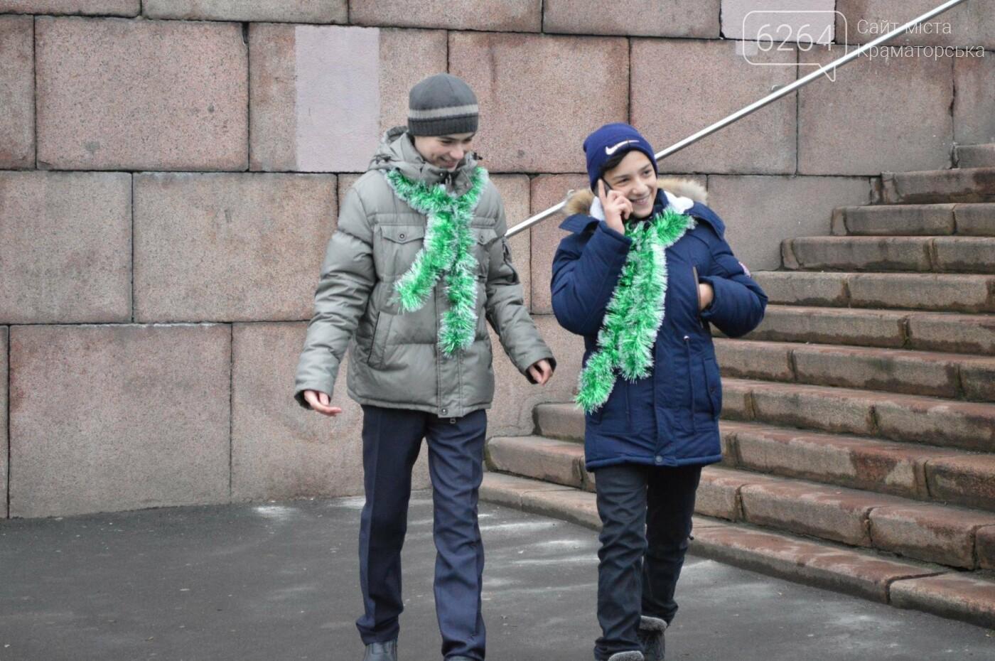 В Краматорске стартовал парад елок, фото-5