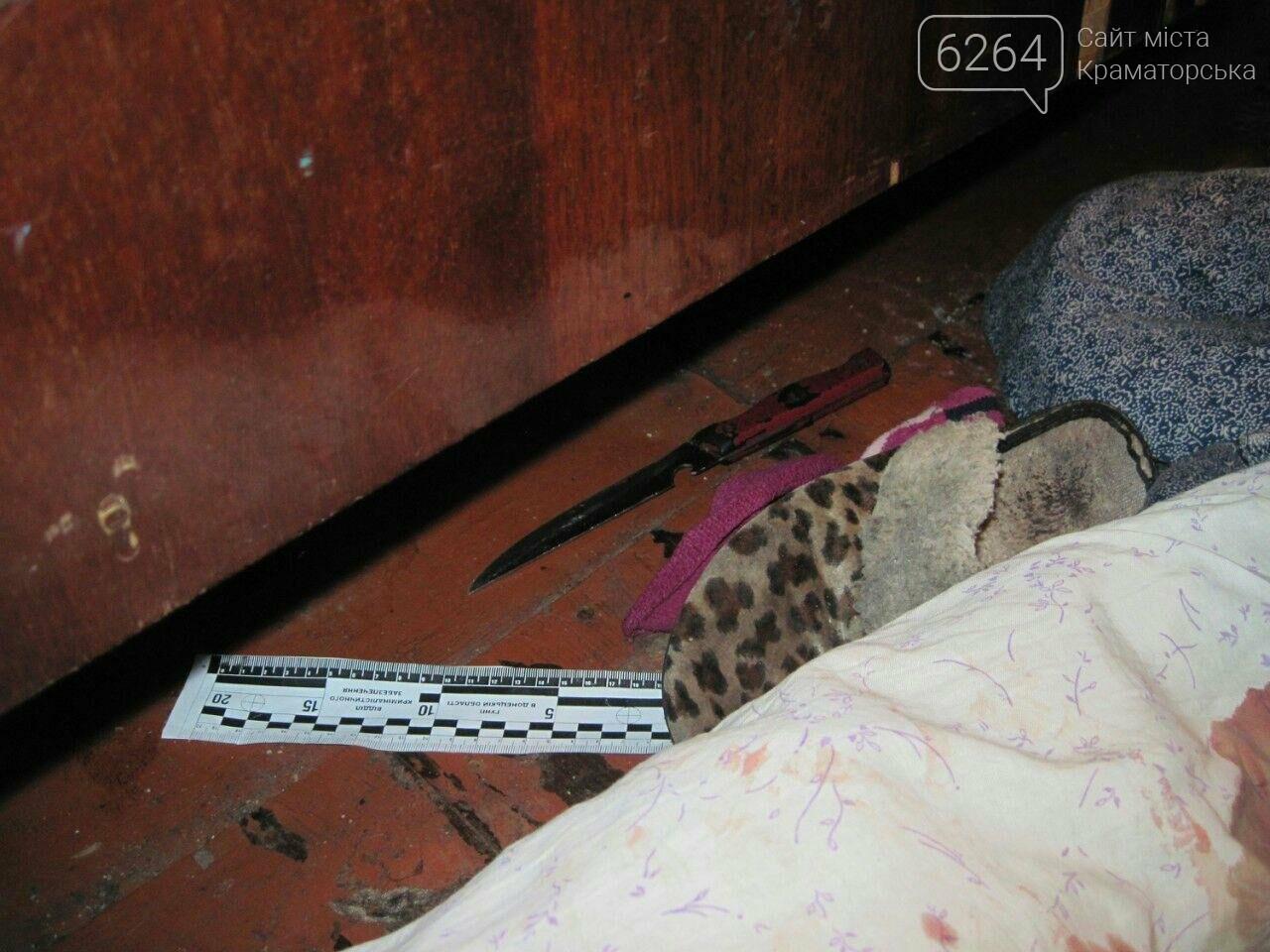 Краматорские полицейские задержали по подозрению в убийстве мужчины его сожительницу, фото-1