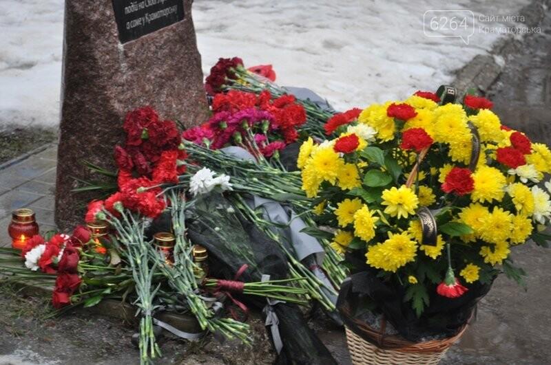 Третья годовщина трагедии Краматорска: минута молчания и открытие мемориала «Сколько людей еще должно погибнуть?», фото-2