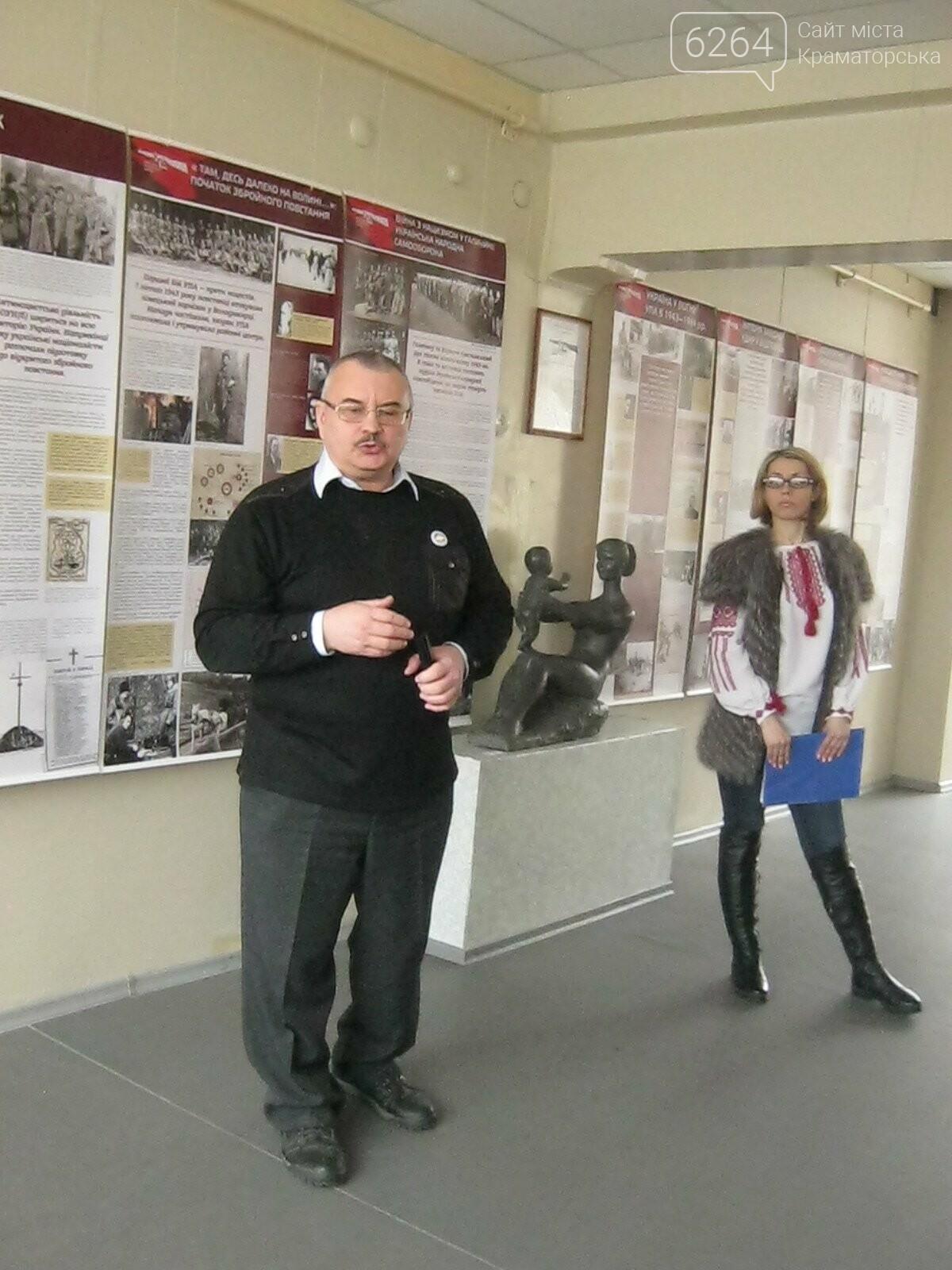В Краматорске открылась выставка к 75-летию УПА, фото-2