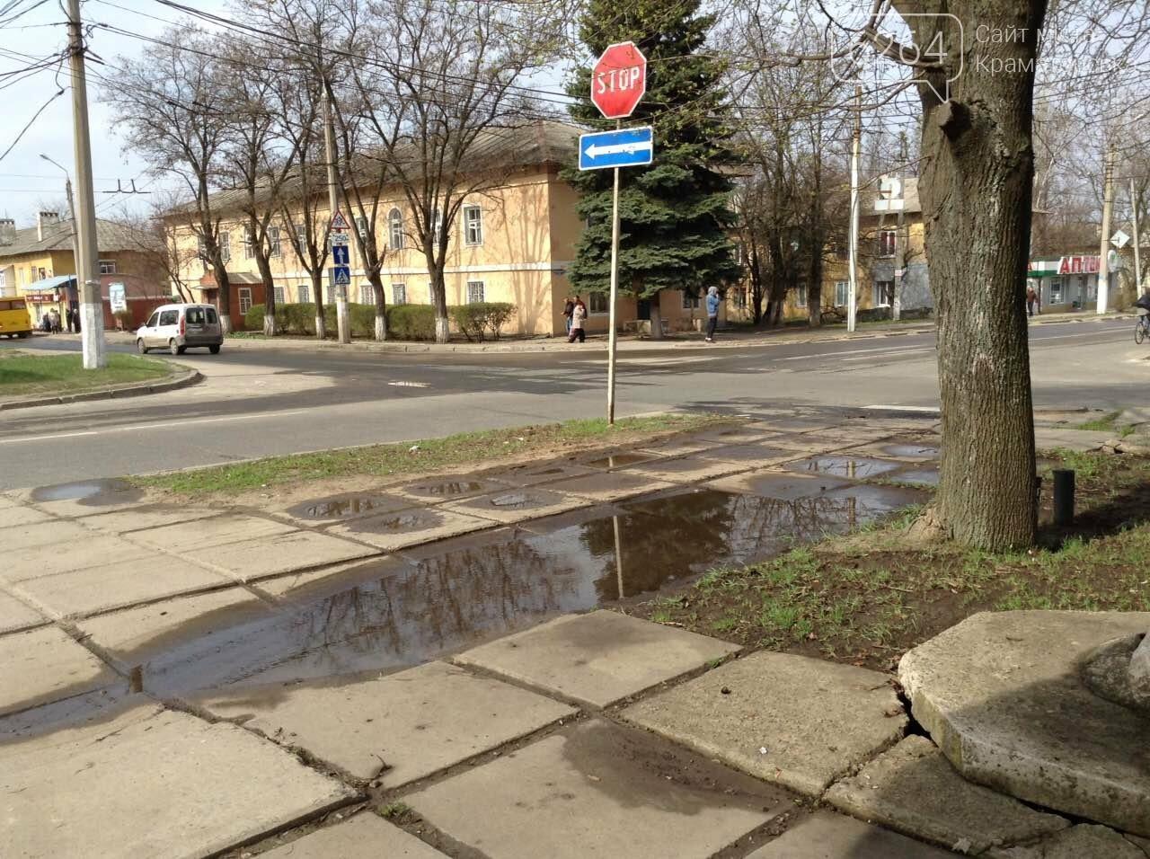 В центре  Краматорска новые ручьи и фонтаны ... из коллекторов , фото-3