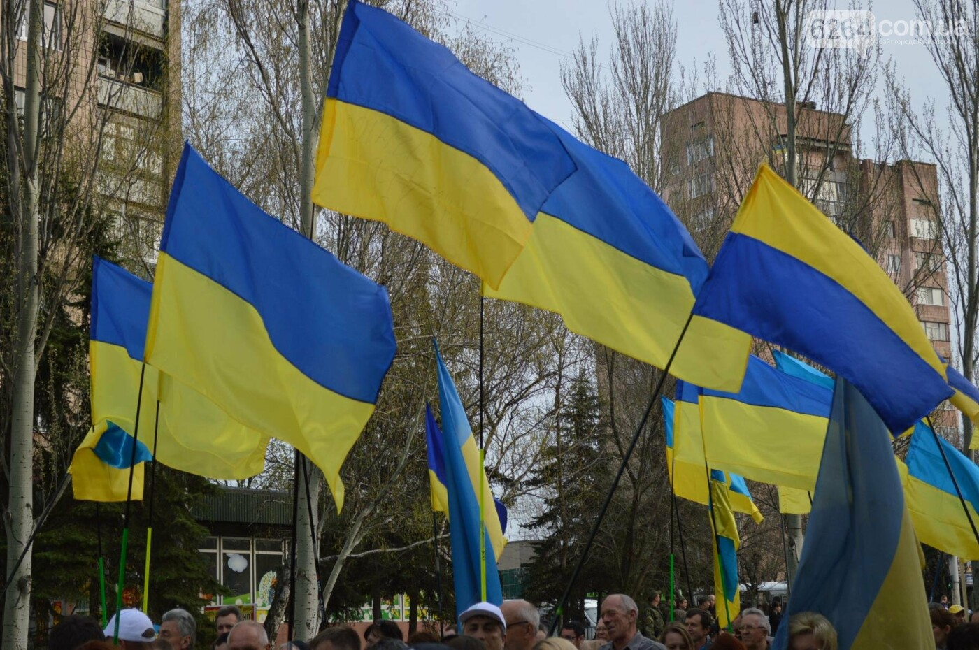 «Хай пам'ятає кремлівська тварина: Краматорськ – це Україна»: центром міста пройшов марш єдності, фото-2