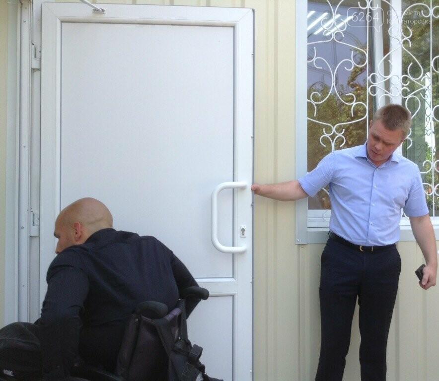 Глава ДонОВГА и первые лица Краматорска с рабочим визитом  побывали в отремонтированной амбулатории в Шабельковке , фото-5