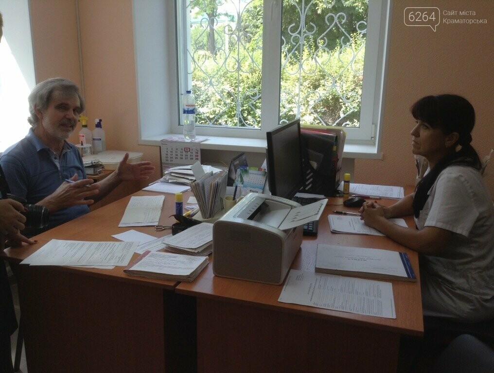 Глава ДонОВГА и первые лица Краматорска с рабочим визитом  побывали в отремонтированной амбулатории в Шабельковке , фото-9