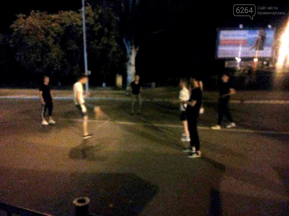 Краматорские ночи: dubstep и футбол на проезжей части, фото-2