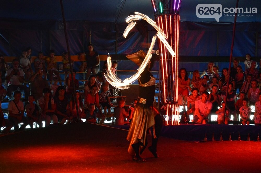 Самый зрелищный цирк на воде: Shekera представил новую программу в Краматорске, фото-2