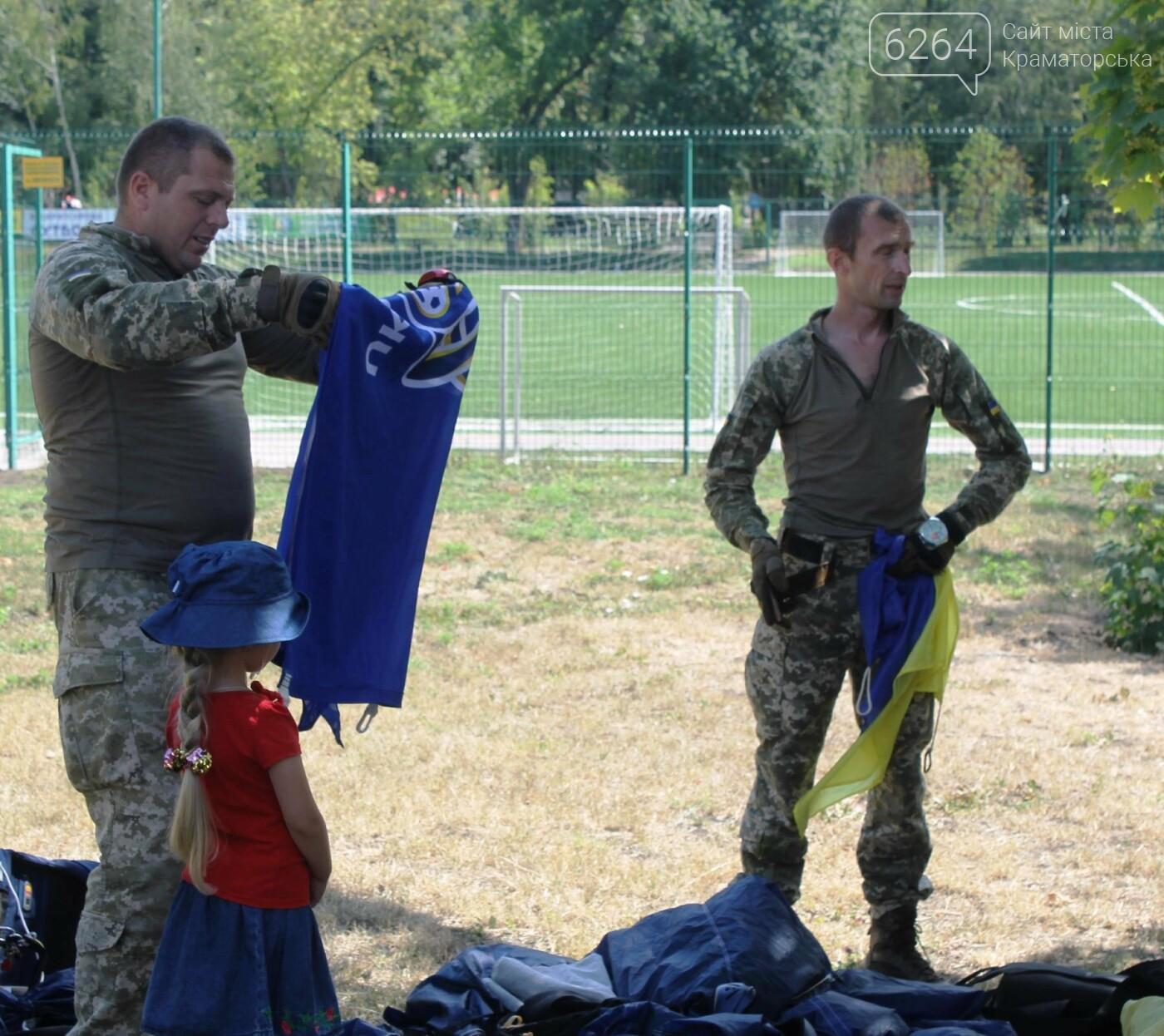 В Краматорске торжественно открыли футбольный турнир ДШВ ВСУ, посвященный погибшим десантникам, фото-4