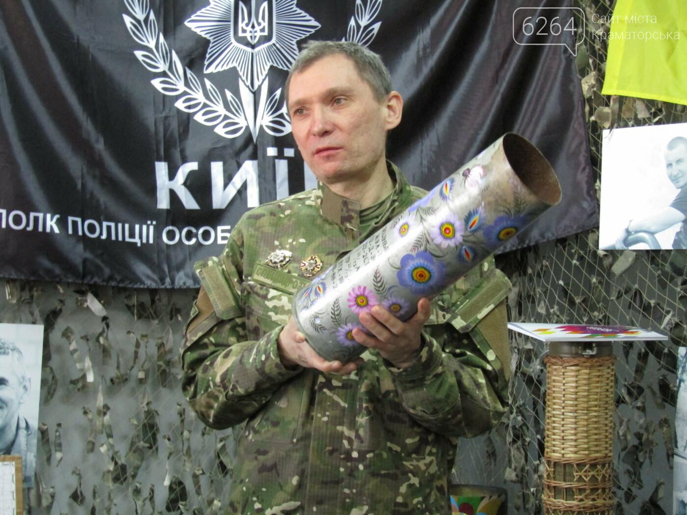 В Краматорске открылась выставка военной атрибутики «Военно-полевой Арт», фото-10