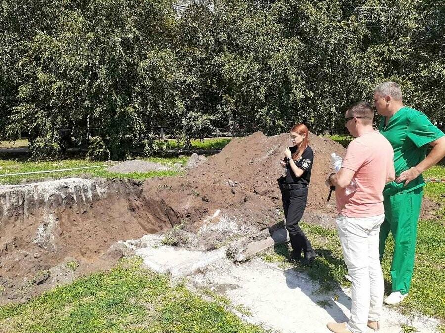 У Краматорську під час встановлення монумента ліквідаторам аварії на ЧАЕС знайшли людські кістки, фото-2