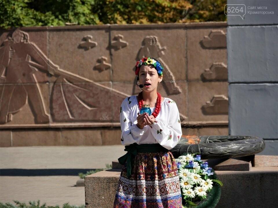 У Краматорську відзначили 76-у річницю звільнення міста від нацистських загарбників , фото-2
