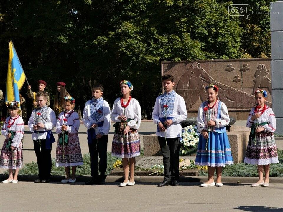 У Краматорську відзначили 76-у річницю звільнення міста від нацистських загарбників , фото-6