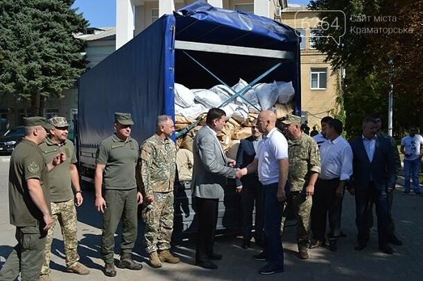 В Краматорск прибыл гуманитарный груз из Латвии для жителей прифронтовой зоны Донетчины (ФОТО), фото-1