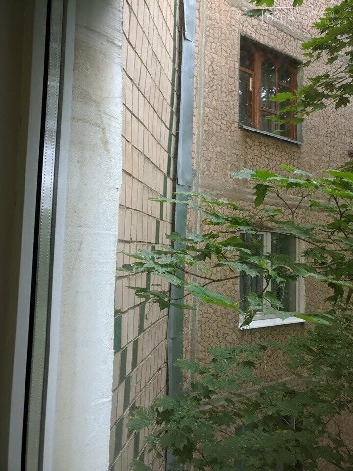 Страшно жить: в Краматорске девятиэтажка трещит по швам, ночью были новые хлопки и расхождения , фото-1