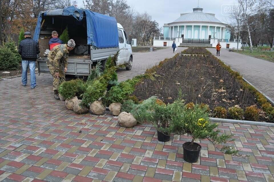 У краматорському Парку Пушкіна проводиться озеленення, фото-4