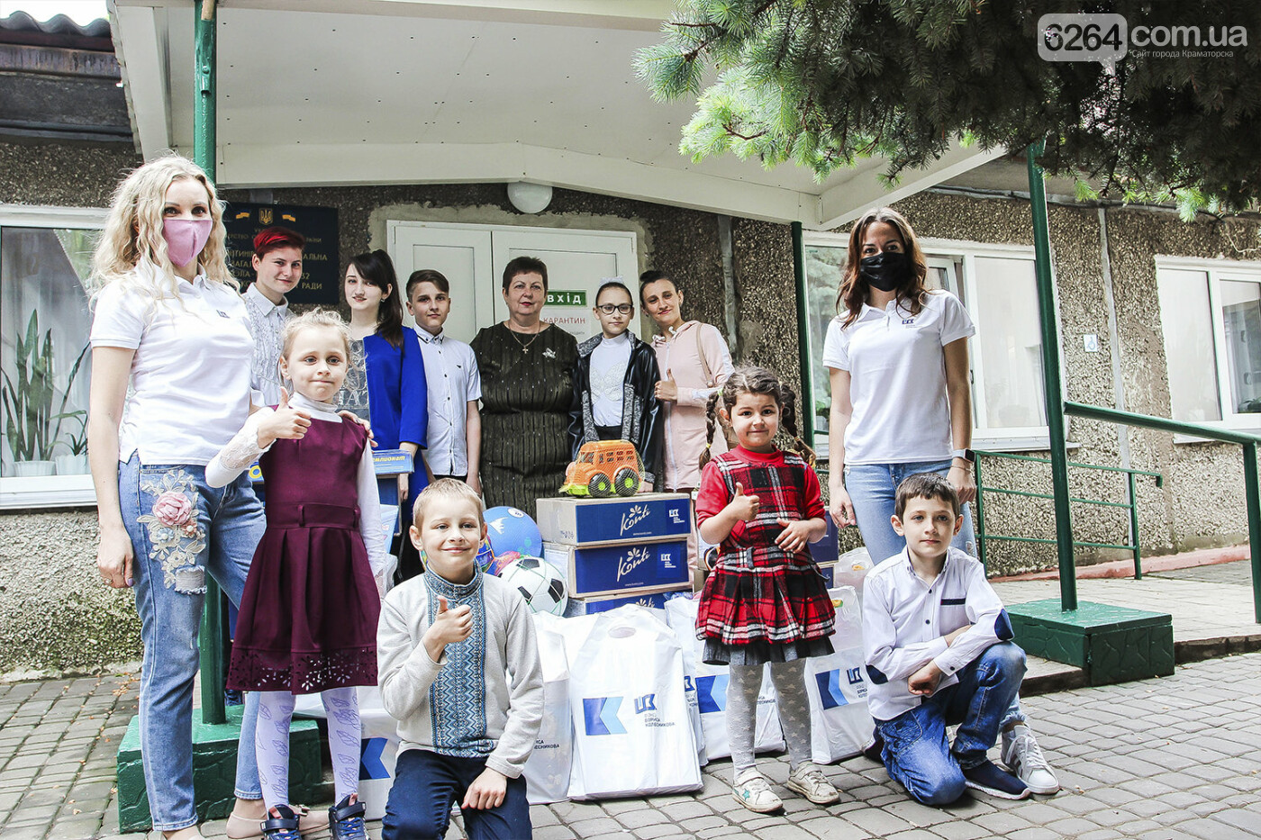 День защиты детей на Донетчине: подарки и поздравления от благотворителей и хоккеистов, фото-4