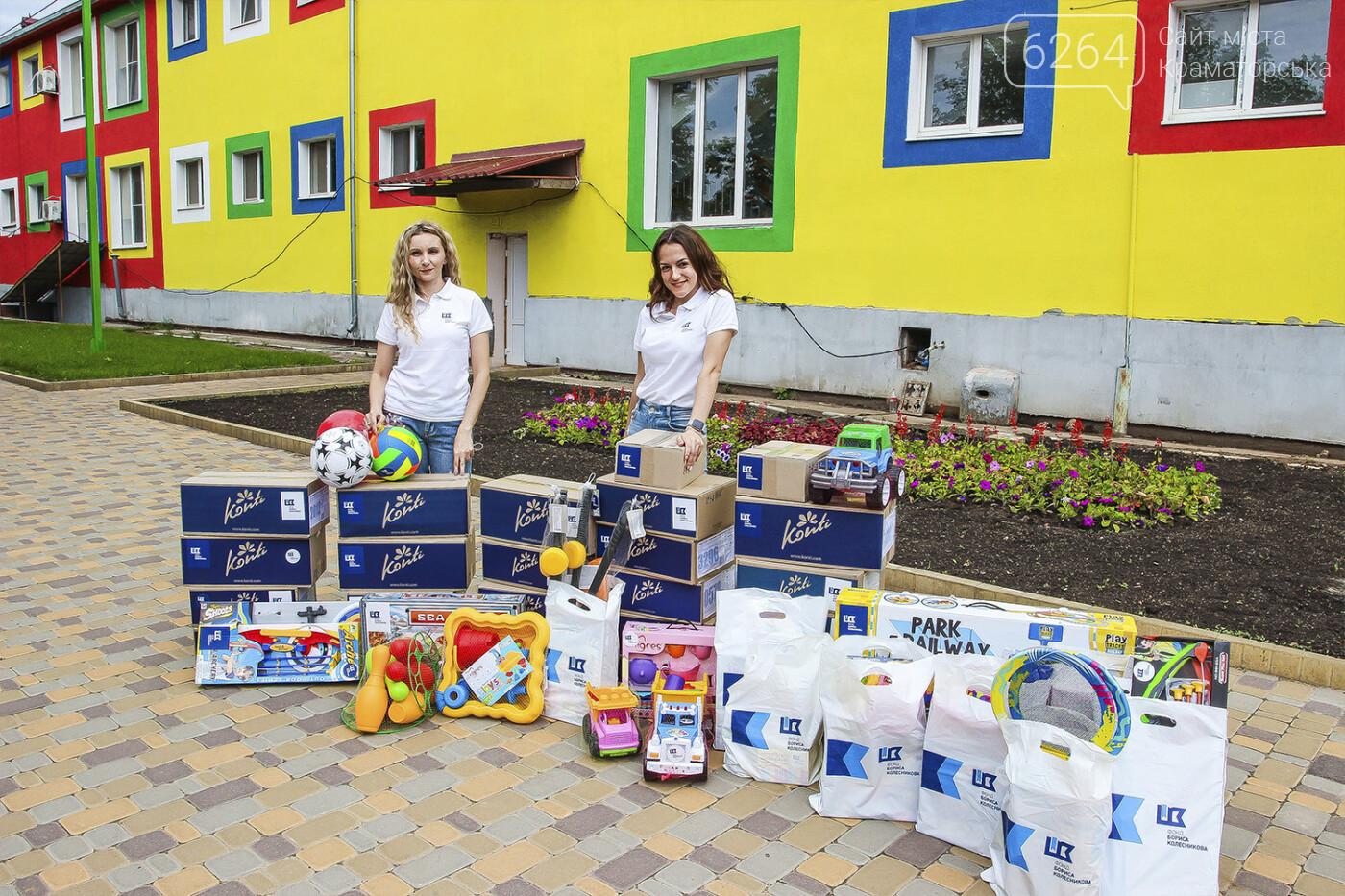 День защиты детей на Донетчине: подарки и поздравления от благотворителей и хоккеистов, фото-3