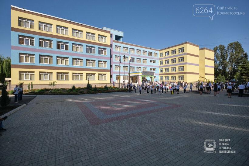 К 1 сентября в Донецкой области открыли после реконструкции 5 школ и 3 детских садика, фото-1