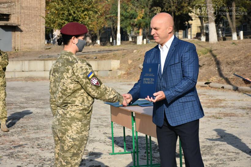 У Краматорську урочисто відзначили День захисника України, фото-6
