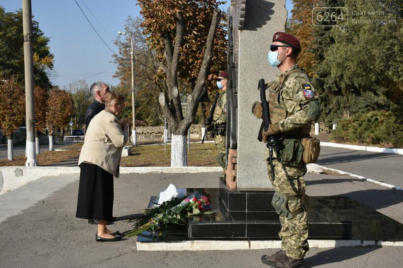 У Краматорську урочисто відзначили День захисника України, фото-8
