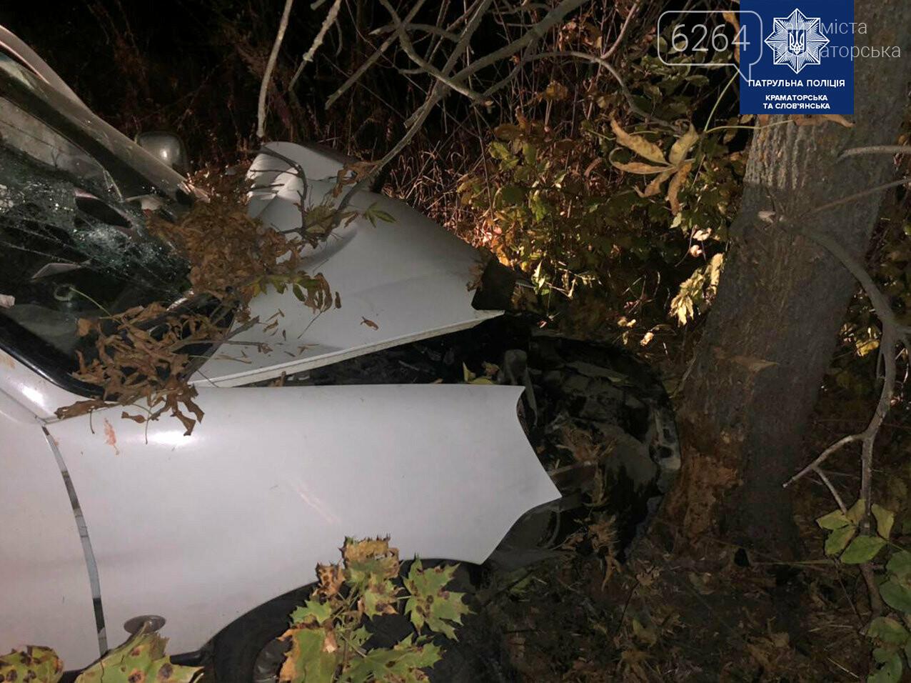 ДТП в Краматорске: Двумя протоколами и разбитым авто закончилась поездка для пьяного водителя , фото-3