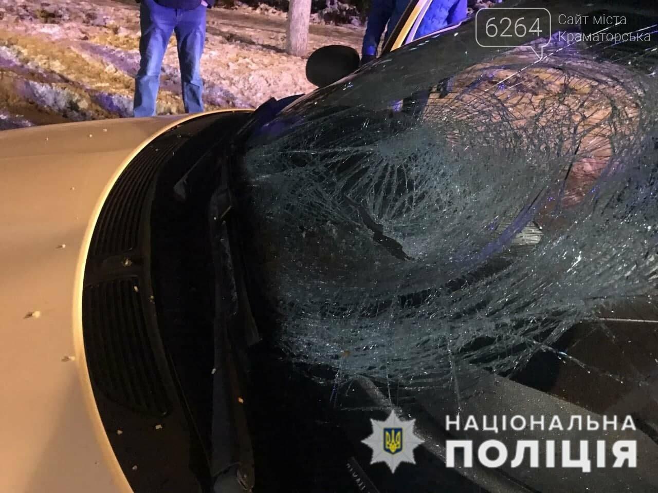 В Краматорске водитель автомобиля «Skoda Fabia» сбил человека на пешеходном переходе, фото-1
