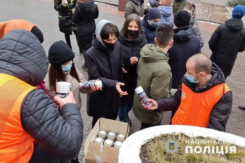 """Краматорські лігівці взяли участь в антинаркотичній акції """"Намалюй життя», фото-2"""