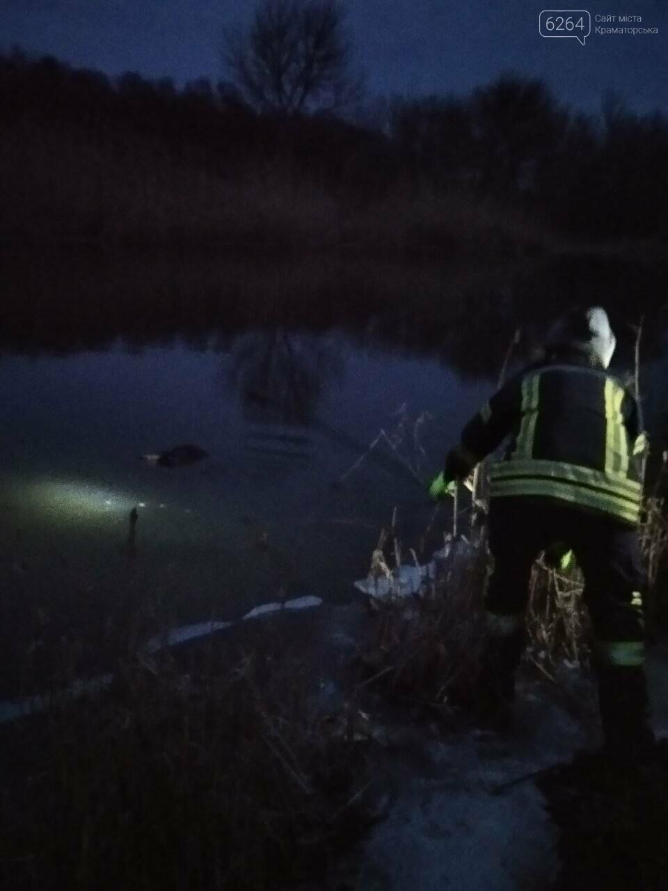 В Краматорске из реки Казенный Торец извлекли тело утонувшего мужчины, фото-2