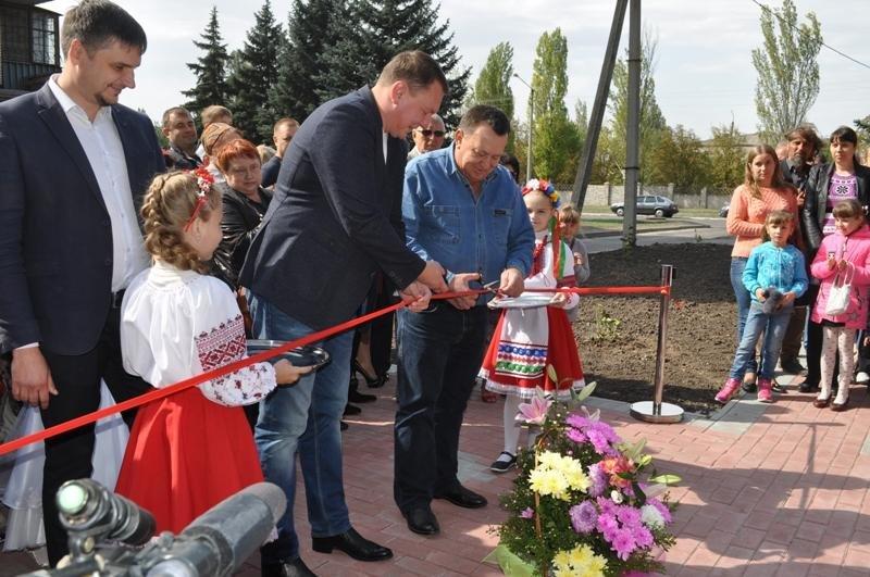 Сквер матери открыли в Краматорске, фото-1
