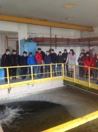 Школьники Краматорска отправились на экскурсию по фильтровальной станции, фото-1